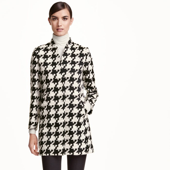 Autumn Coat, Fall Coat, houndstooth dogtooth